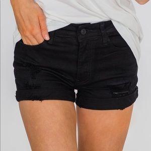 KanCan distressed stretch shorts